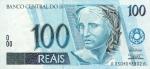 100 Brazilijos realų.