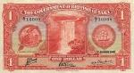 1 Britų Gvianos doleris.