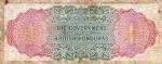 1 Britų Hondūro doleris.