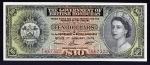 10 Britų Hondūro dolerių.