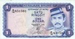 1 Brunėjaus doleris.