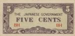 5 Burmos Kijato centai.