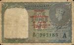 1 Burmos rupija.