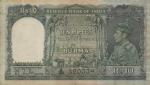 10 Burmos rupijų.