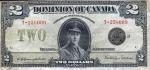 2 Kanados doleriai.