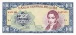100 Čilės eskudų.