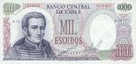 1000 Čilės eskudų.