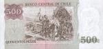 500 Čilės pesų.