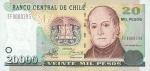 20000 Čilės pesų.