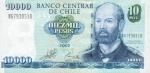 10000 Čilės pesų.