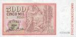 5000 Čilės pesų.