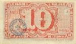10 Kolumbijos sentavų.
