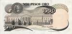 1000 Kolumbijos pesų.
