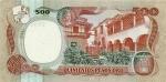 500 Kolumbijos pesų.