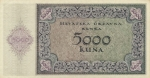 5000 Kroatijos kunų.