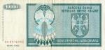 10000 Kroatijos dinarų.