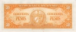 50 Kubos pesų.