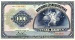 1000 Čekoslovakijos kronų.