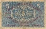 5 Čekoslovakijos kronos.