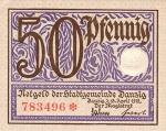 50 Dancigo pfeningų.