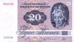 20 Danijos kronų.