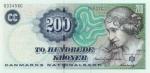 200 Danijos kronų.