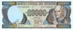 20000 Ekvadoro sukrų.