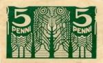 5 Estijos peniai.