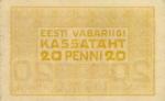20 Estijos penių.