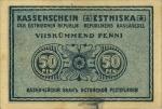 50 Estijos penių.