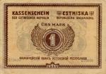 1 Estijos markė.