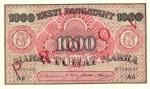 1000 Estijos markių.