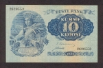 10 Estijos kronų.
