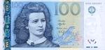 100 Estijos kronų.