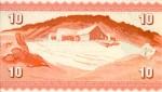 10 Farerų salų kronų.