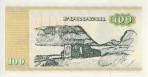 100 Farerų salų kronų.