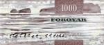 1000 Farerų salų kronų.