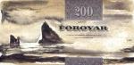 200 Farerų salų kronų.