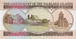 20 Falklando salų svarų.