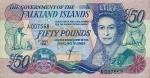50 Falklando salų svarų.