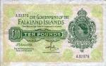 10 Falklando salų svarų.