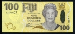 100 Fidžio dolerių.