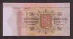 50 Suomijos markių.