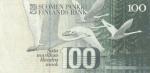 100 Suomijos markių.