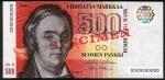 1000 Suomijos markių.