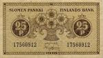 25 Suomijos peniai.