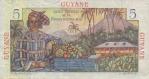 5 Prancūzijos Gvianos frankai.