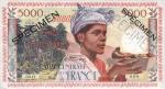 5000 Prancūzijos Gvianos frankų.