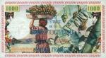 1000 Prancūzijos Gvianos frankų.
