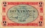 2 Prancūzijos Gvianos frankai.